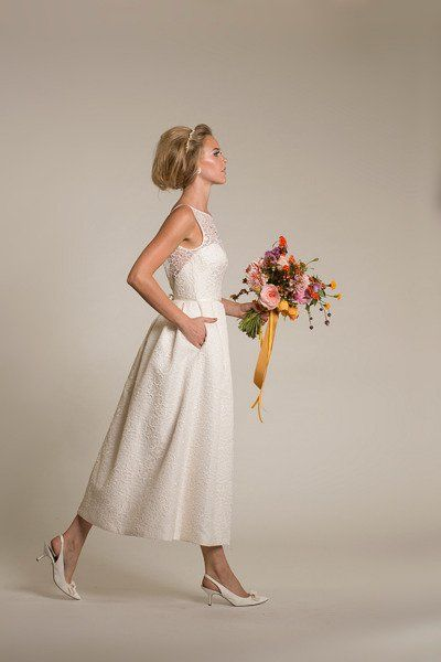 10 Amy Kuschel Wedding Gowns You Must See.  Pinned by Afloral.com