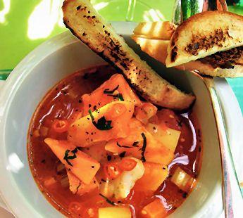 Pittige vissoep met bataat - Recept - Jumbo Supermarkten