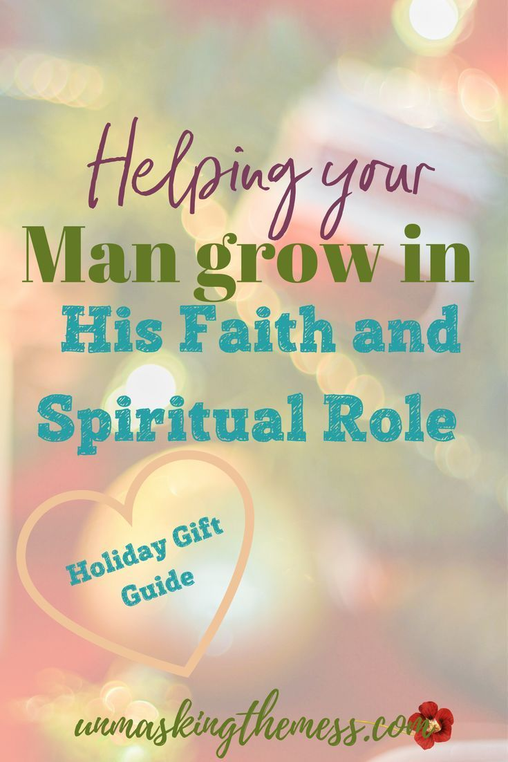 Holiday Gift Guide: Helping Your Man Grown in His Faith and Spiritual Role. Why should we encourage our husband's spiritual leadership in the home? Every relationship is based on his faith and relationship with God. #Holidaygiftguide #mensgifts #gifts #leadership #men #christiangifts #holidays #christmasgifts