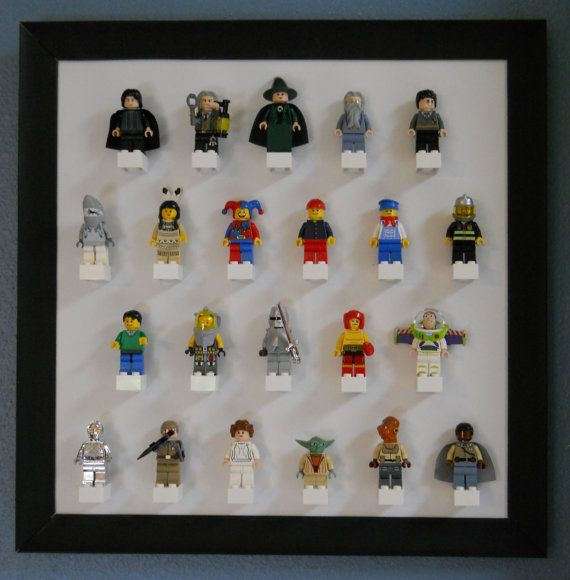 Display your favorite mini-figures in style. What will your theme be? Rebels versus the Empire? City dwellers? Super heroes or super villains?