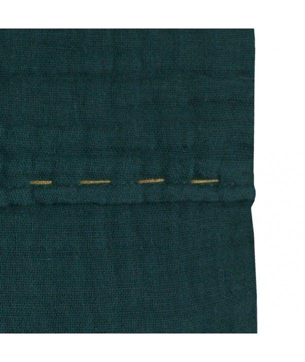 Top flat Sheet Plain teal blue