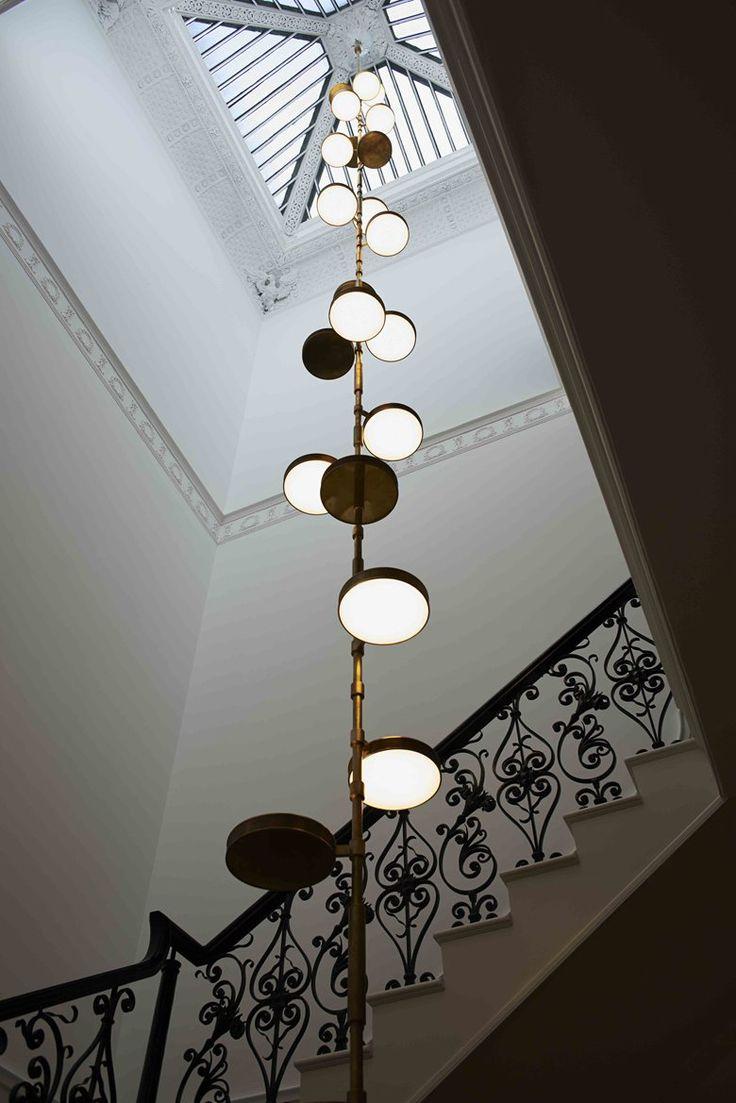 Fantastic Petalled Light Fixture In Marina Rinaldis London Flagship Shop