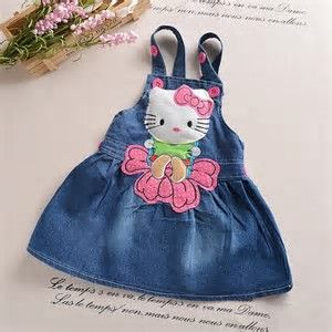 Resultado de imagem para bing baby denim dress designs