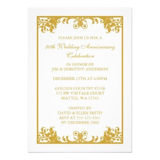 Best Anniversary Party Images On   Wedding Stationery