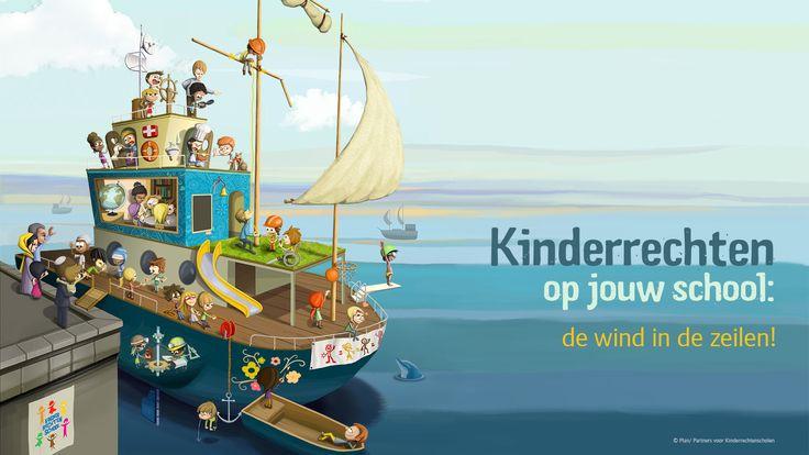 kinderrechten boot - website op kindermaat