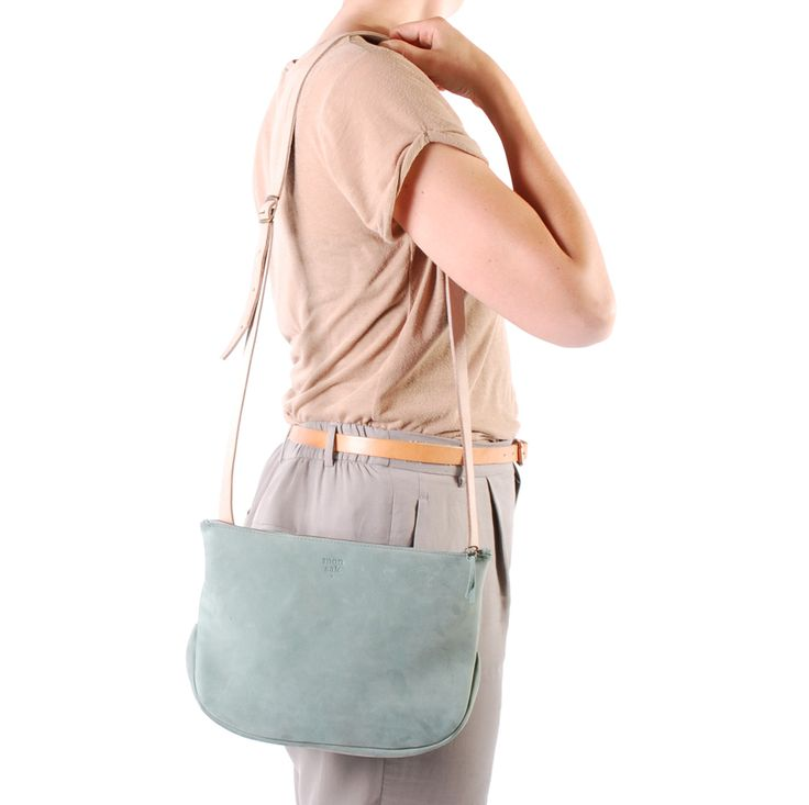 monsak • mint groen • leer • sak 9 • pastel • www.monsak.nl • leather bag