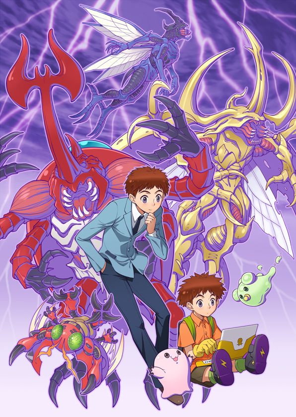 Digimon - Izzy with Tentomon's Digivolutions by eclosion