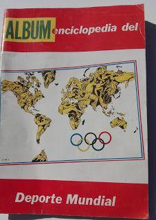 Paraíso del Libro Usado: Album Enciclopedia Del Deporte Mundial , 1974