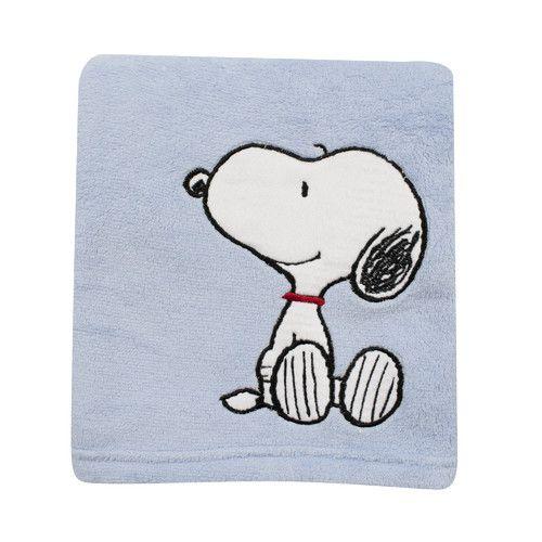 Snoopy throw