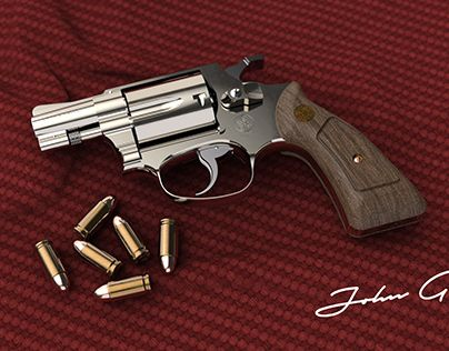 Check Out New Work On My Behance Profile Daily Renders 12 Smith Wesson Chief Special Http Be Net Gallery 88823803 Daily Smith Wesson Wesson Rendering