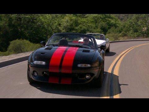 Monster Miata! [The Downshift - Episode 27] / Mazda MX-5 with Ford 5.0-liter V-8 engine