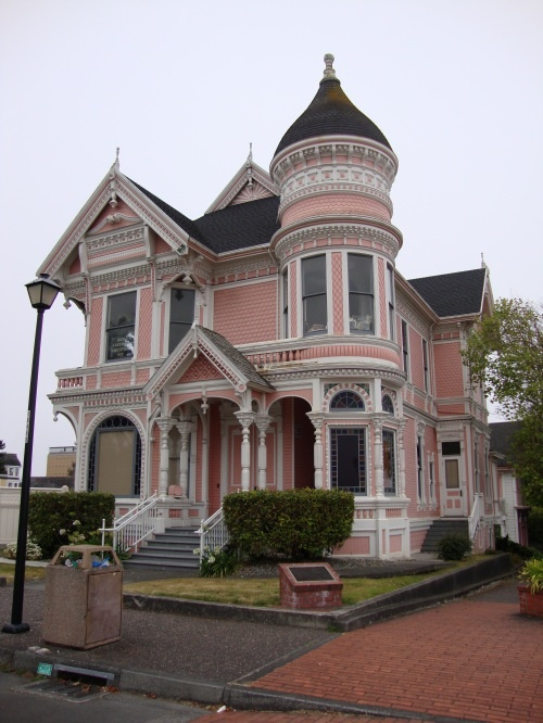 Gingerbread Mansion in Ferndale, California.