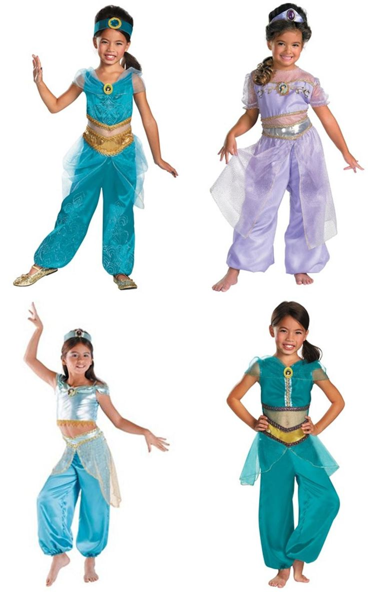 Princess Jasmine Costume For Kids  Disney Kids  In 2019 -1081