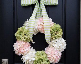 Hortensia couronnes fleurs d'hortensia d'été 22  par twoinspireyou