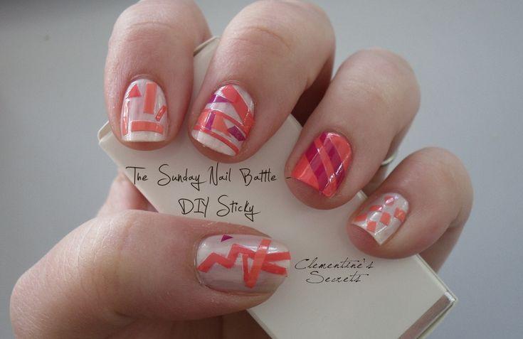 DIY Sticky Nails