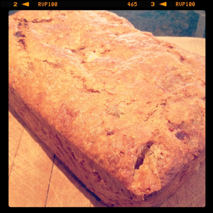 Feijoa and white chocolate loaf