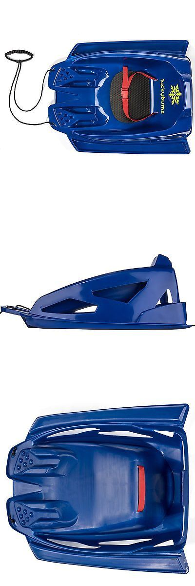 Sleds and Snow Tubes 59892: Lucky Bums Toddler Pull Sled, Blue -> BUY IT NOW ONLY: $48.78 on eBay!