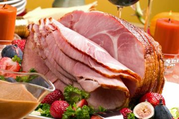 """Christmas ham 