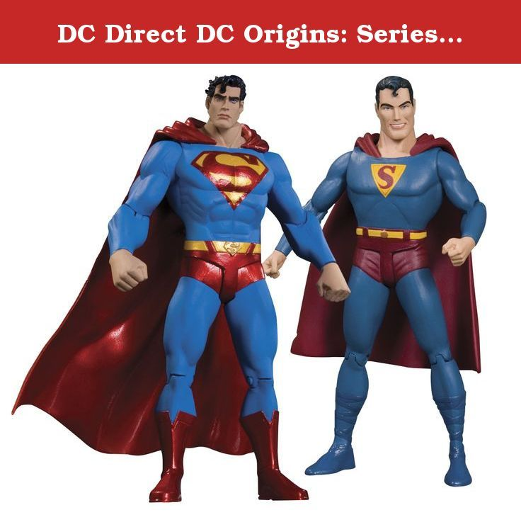 DC Direct DC Origins: Series Two: Superman Action Figure Two-Pack. Trace the history of some of the most popular DC Comics heroes with these special twopack action figure sets!Each set includes two fullsized figures packaged together one based on art from the characters early appearances and the other based on art from the modern era.