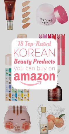 18 Top-Rated Korean Beauty Products You Can Buy On Amazon - Gotta try 'em all <3