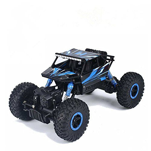 Hobby RC Crawlers - RC carDeXop 24HZ Electric Rock Crawler Radio Control Cars Off Road high speed Racing Remote Control Carsblue *** Check out this great product.