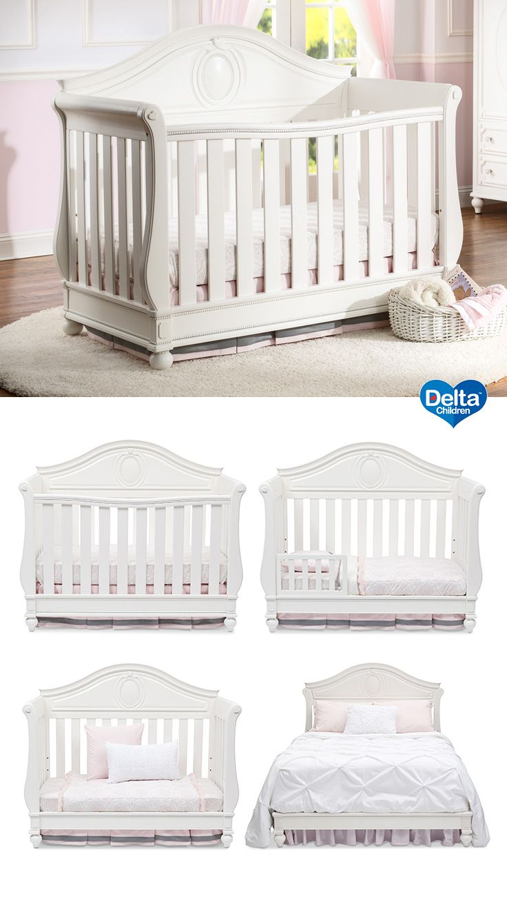 75 best cribs images on pinterest convertible crib delta children and baby cribs. Black Bedroom Furniture Sets. Home Design Ideas