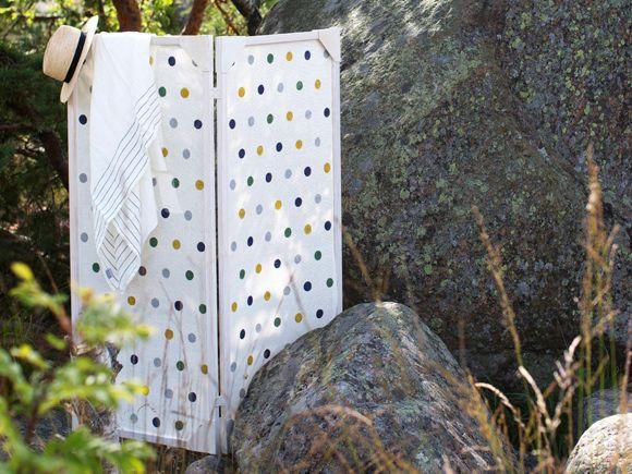 Kudo paperinarusta kätevä sermi – Katso ohjeet: Kotiliesi.fi - Hand woven screen