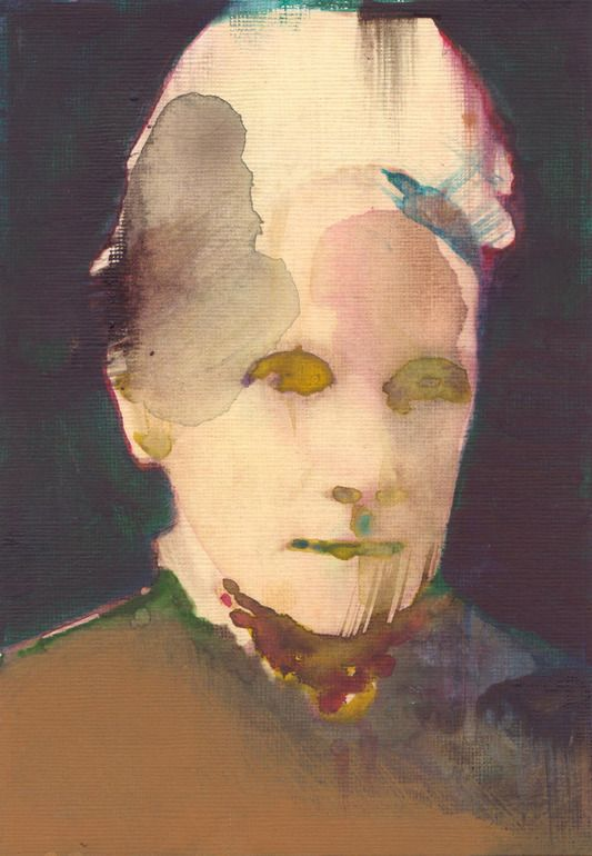 "Saatchi Online Artist: Yuma Tomiyasu; Watercolor, Painting ""Untitled Aland & Co, Victorian 2)"""