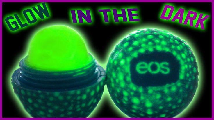 DIY Glow In The Dark EOS Lip Balm!   Easy & Non-Toxic!   Perfect For Par...