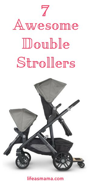 Love this list of some of the coolest double strollers out there. And they're NOT all super expensive!