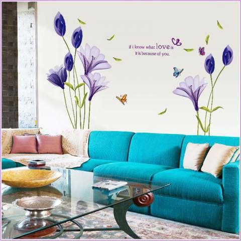 Purple Tulip With Quotes