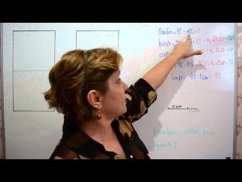 Base de blusa para malha - Aula 45 - YouTube