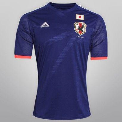 Netshoes -  Camisa Adidas Seleção Japão Home 2014 s/nº
