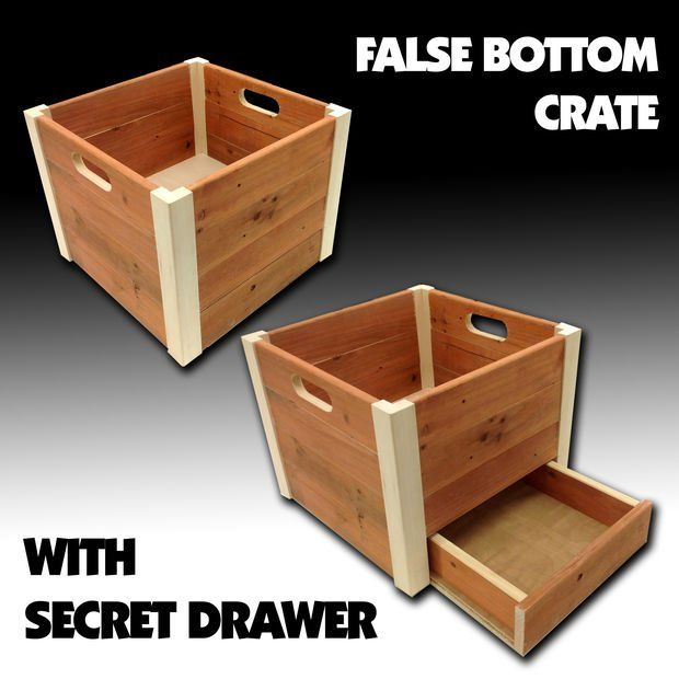 False Bottom Wooden Crate                                                                                                                                                                                 More