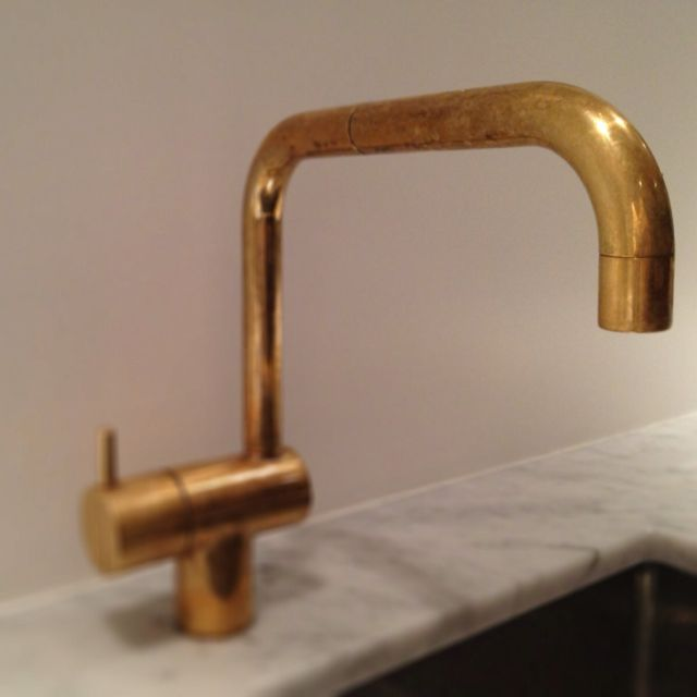 arne jacobsen brass faucet for vola 1968 fixtures. Black Bedroom Furniture Sets. Home Design Ideas