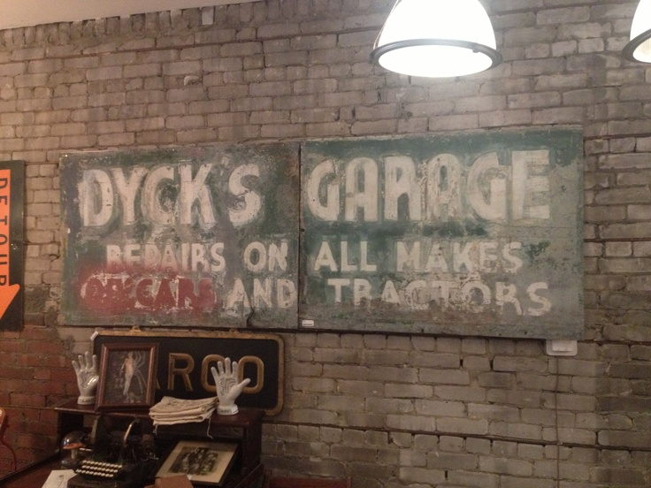 Garage Signs Decor : Best images about garage signs art on pinterest