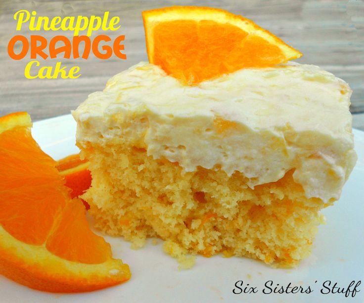 Pineapple Orange Cake | Six Sisters' Stuff