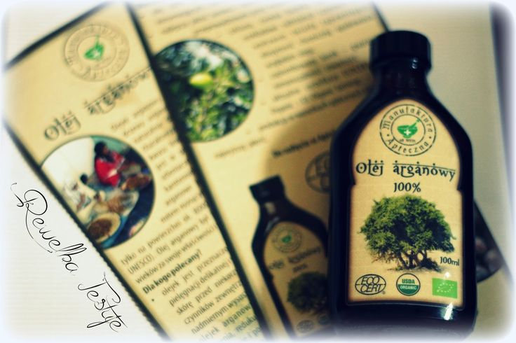 Rewelka Konkursuje i Testuje: 100% olej arganowy z Maroka od Manufaktura Apteczn...