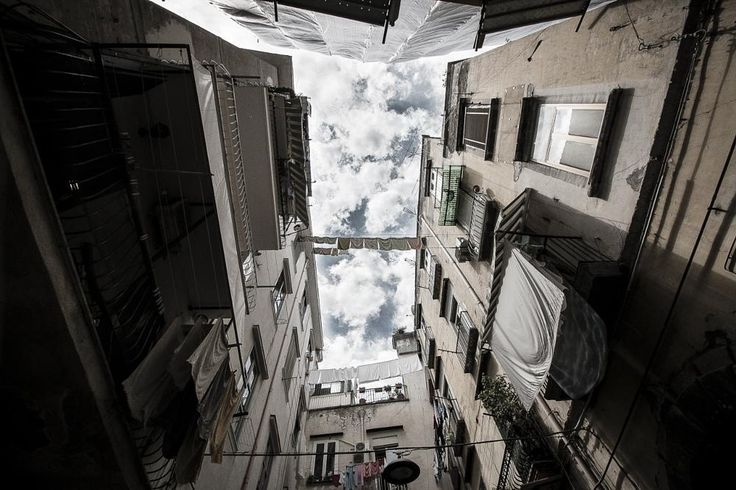 Il cielo sopra Napoli by emanuele meschini  © Emanuele Meschini 2015  #urban #city #travel