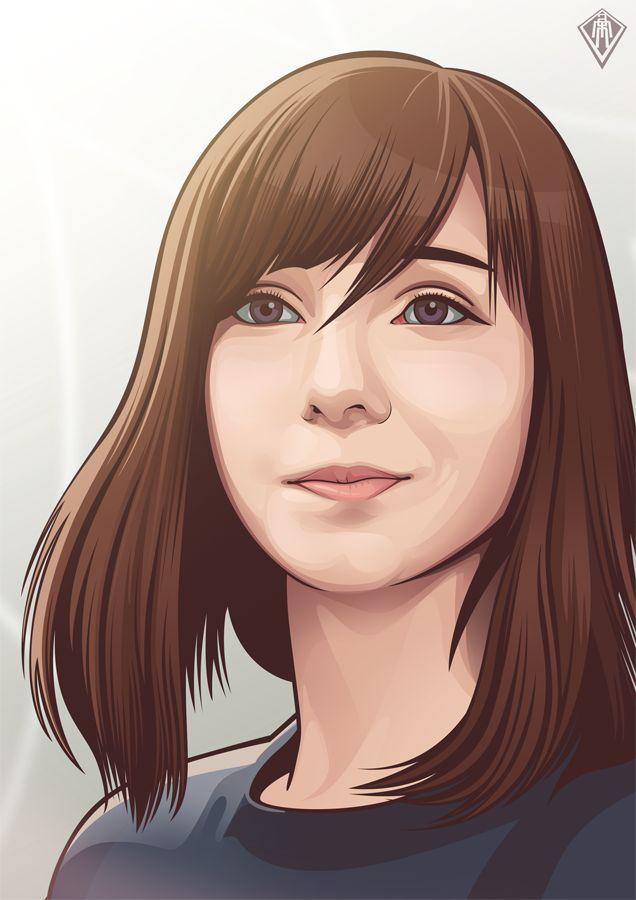 https://www.behance.net/gallery/17375789/Vexel-Portraits-2014