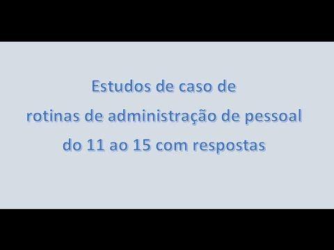 Estudos de caso de 11 a 15