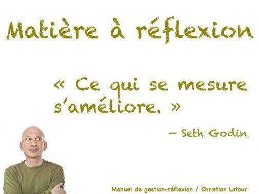 « Ce qui se mesure s'améliore. » — Seth Godin - La Revue HRI : HOTELS, RESTAURANTS et INSTITUTIONS