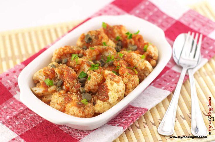 Cavoli alla pizzaiola, ricetta contorno- my cooking idea
