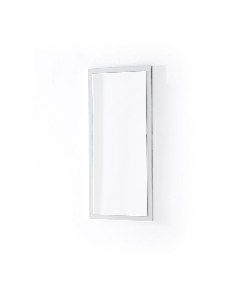 Wandspiegel Bianco II Hochglanz weiß passend zum Möbelprogramm Bianco 1 x Wandspiegel mit Facettenschliff Maße: B/H/T ca.   51 x 106 x 2 cm Material:... #flur #garderobe #spiegel