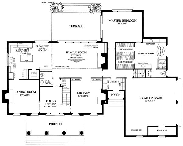 Colonial Traditional House Plans House Plans