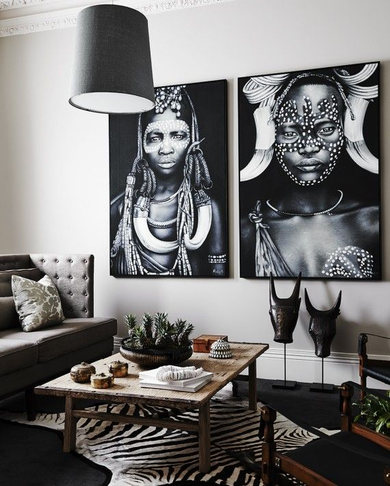 Home By Tribal Deco African Living Rooms Decor