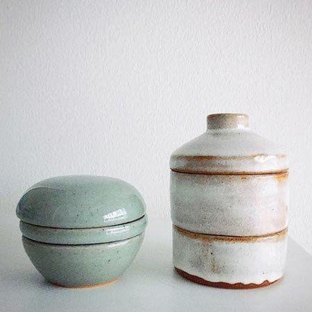 Jewelry Vase - Støvet Grøn