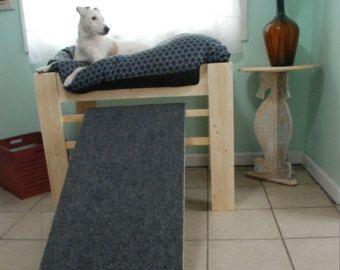 best 25 raised dog beds ideas on pinterest big dog house dog house plans and elevated dog bed. Black Bedroom Furniture Sets. Home Design Ideas