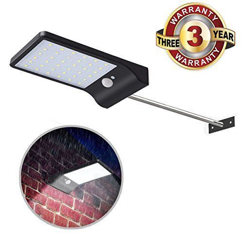 Aluvee Security Solar Motion Lights Outdoor 16 LED Waterproof Wireless Solar #Unbranded #Asshowninthepicture