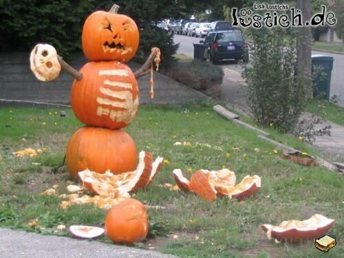 Kürbismassaker (Halloween Diy Men)